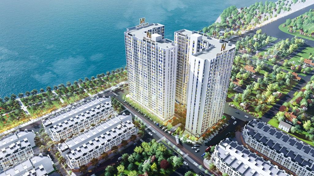 dự án chung cư hanhomes blue star trâu quỳ