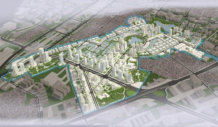 dự án hinode garden city hoài đức