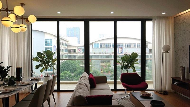 nhà mẫu chung cư chelsea residences