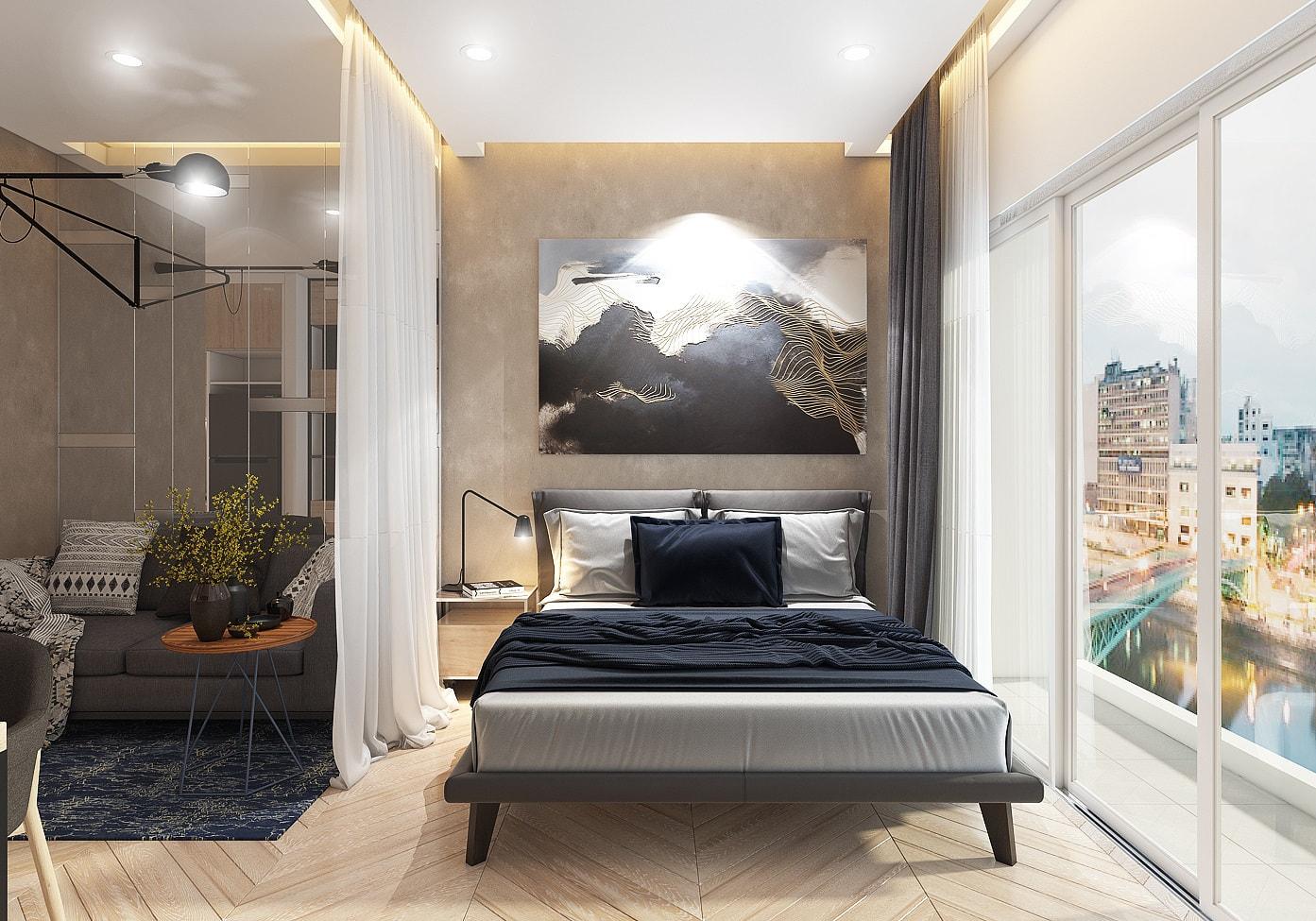 nội thất chung cư masteri waterfront