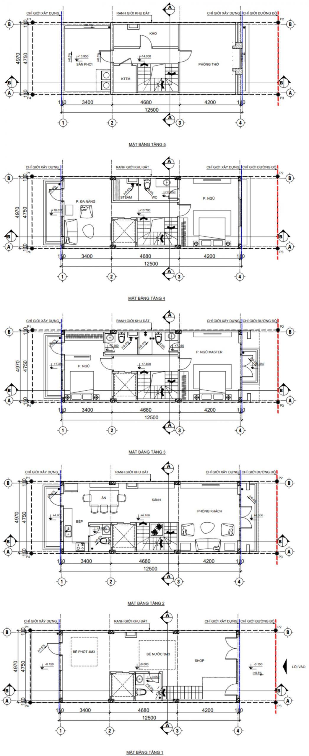thiết kế tnr grand palace cao bằng