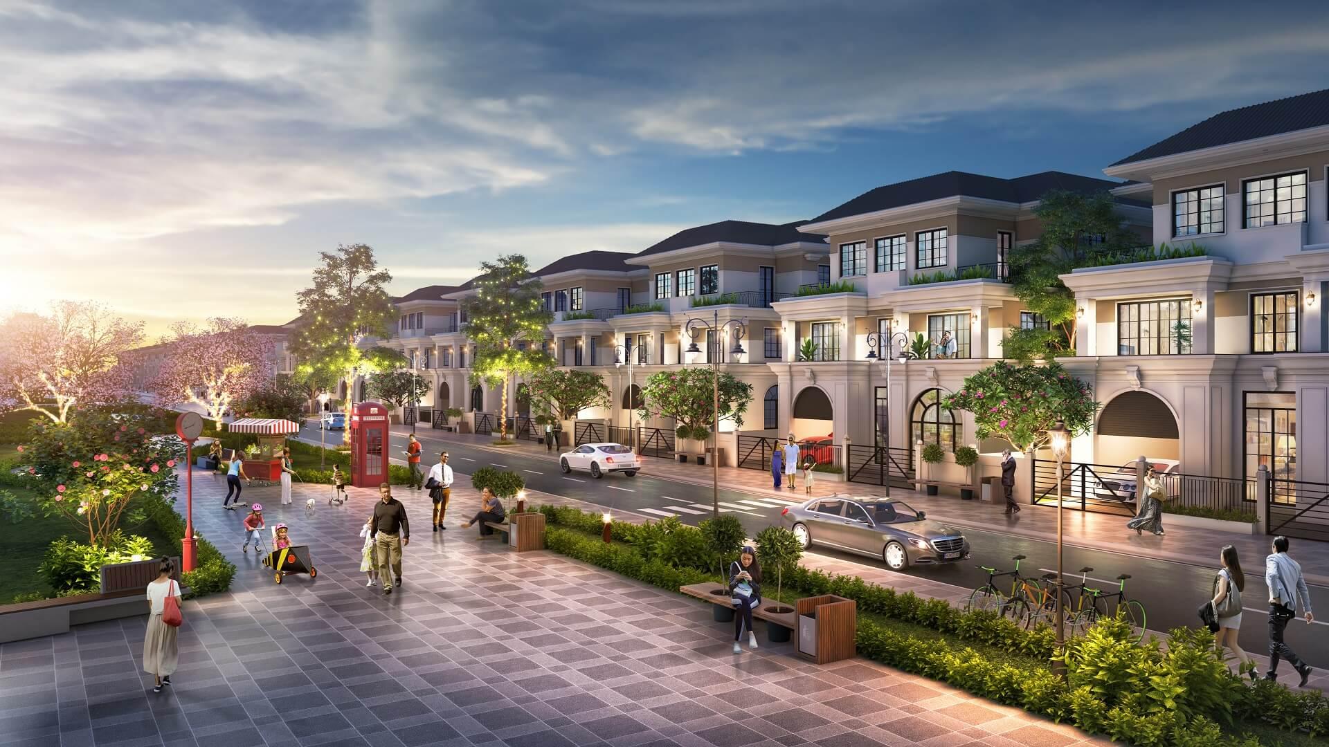 biệt thự dự án green dragon city