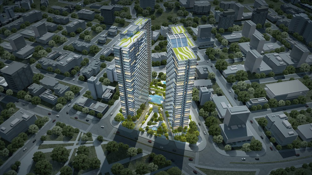 dự án chung cư cao xanh đại dương