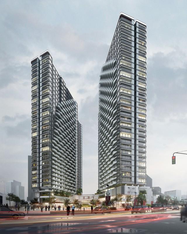 mặt bằng dự án chung cư cao xanh đại dương