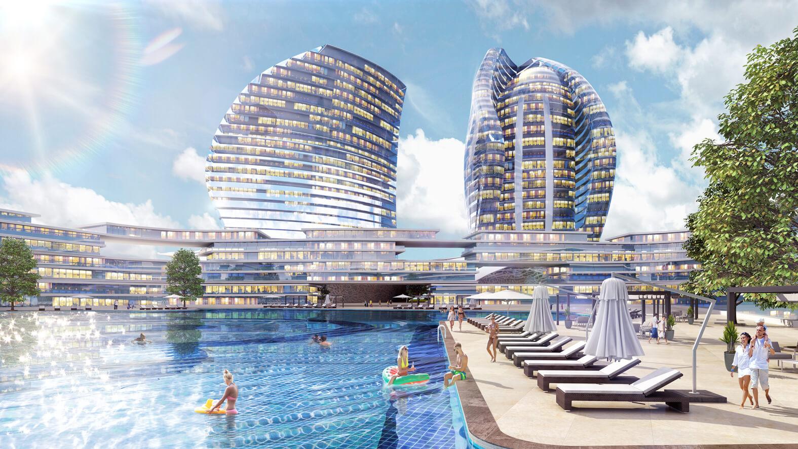 khách sạn tại dự án green dragon city