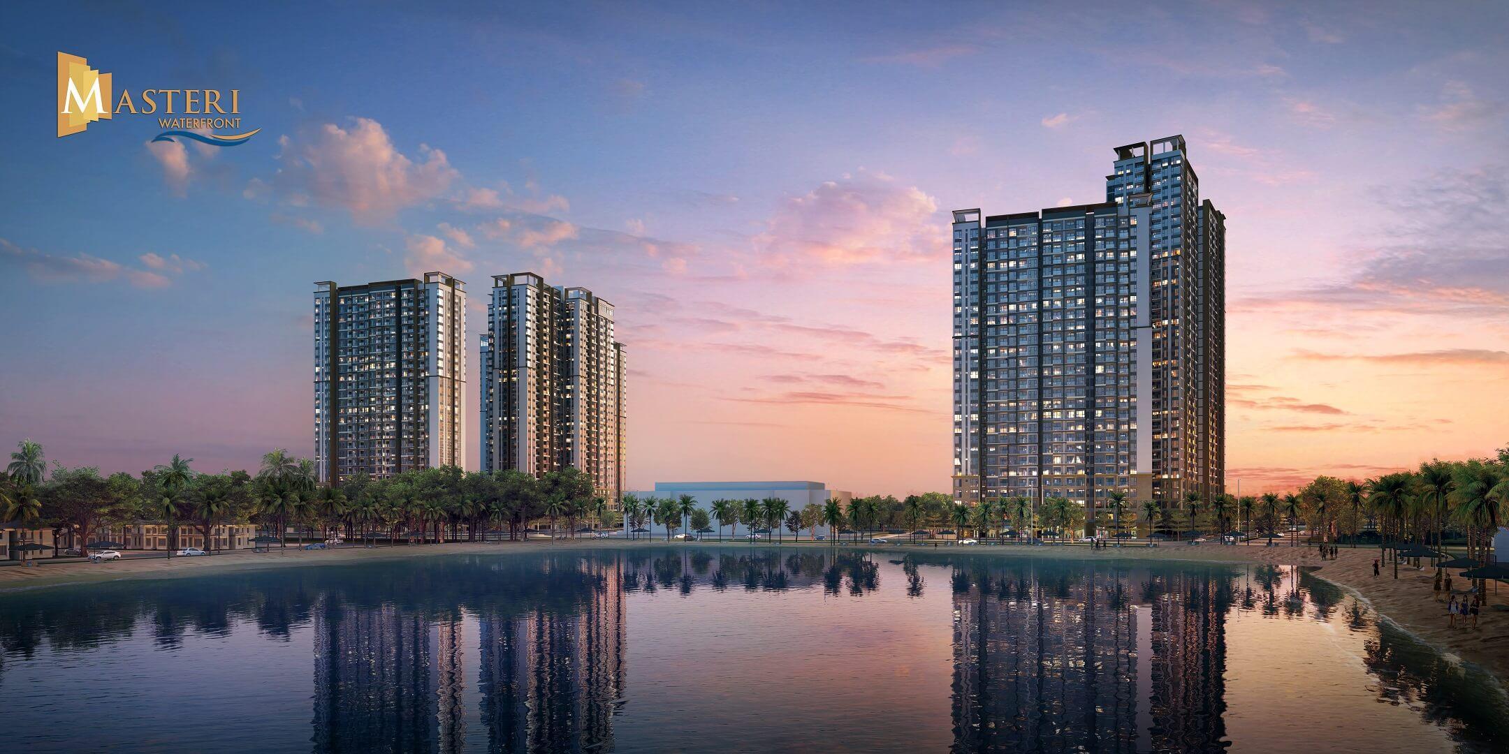 dự án chung cư masteri waterfront ocean park