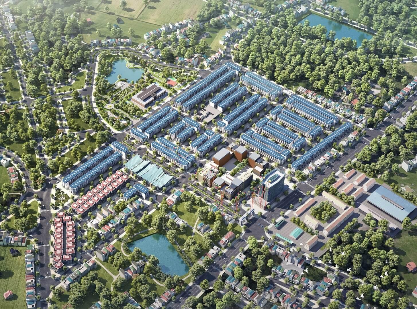 Phối cảnh dự án TNR Star Thắng City