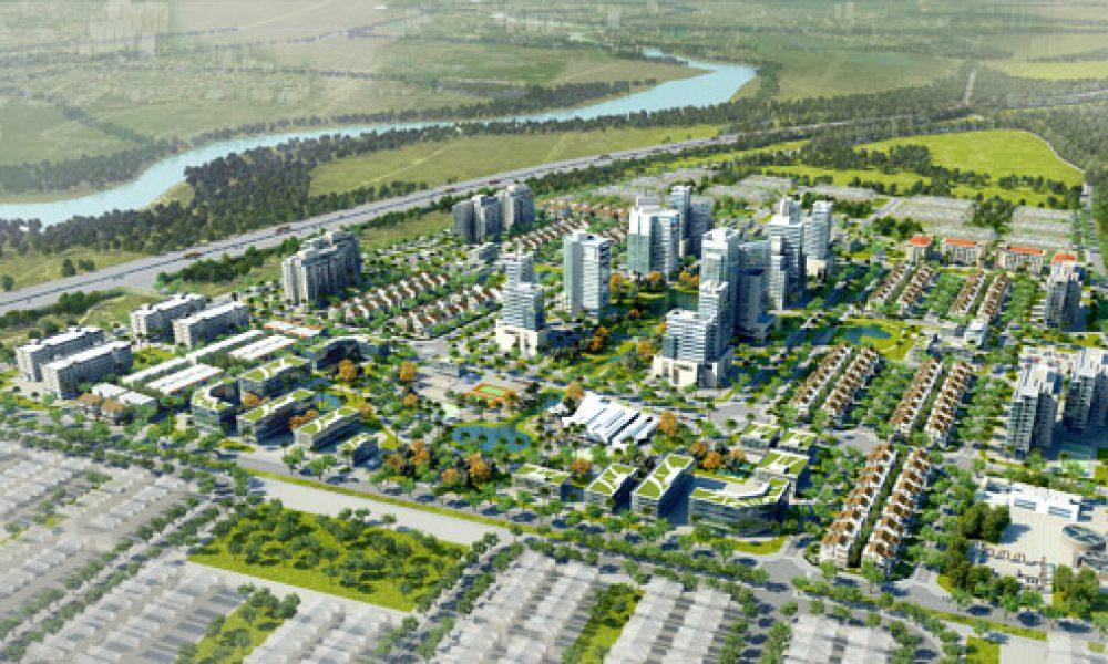 Phối cảnh dự án Viglacera Yên Phong - Bắc Ninh