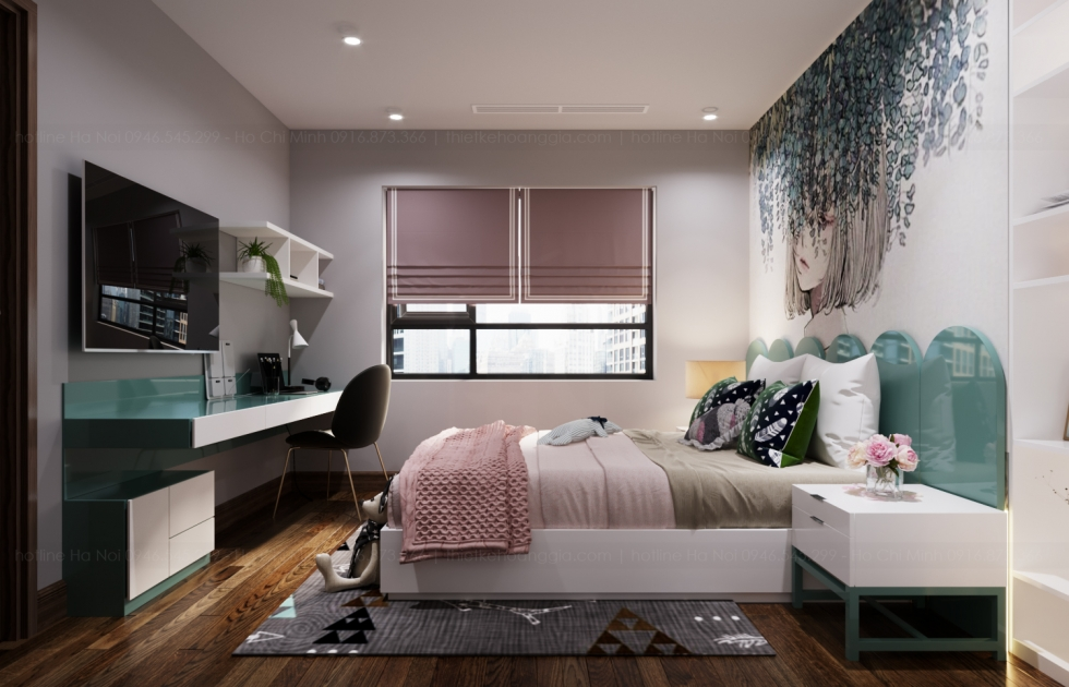 nội thất căn hộ viha complex