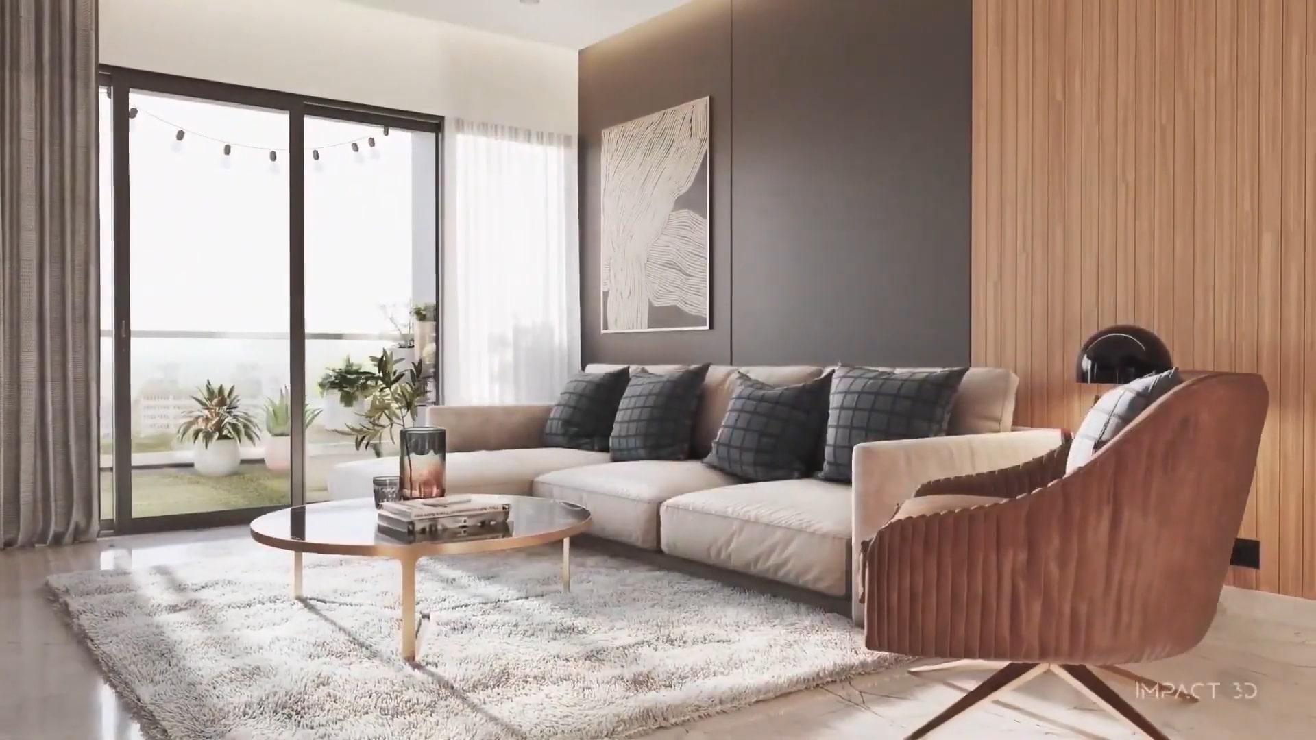 nội thất căn hộ sunshine green iconic