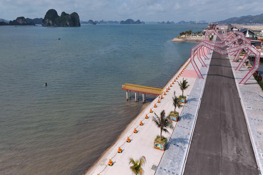 Hình ảnh thực tế dự án Wonder Island Phương Đông