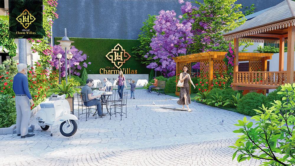 tiện ích dự án hòa lạc charm villas