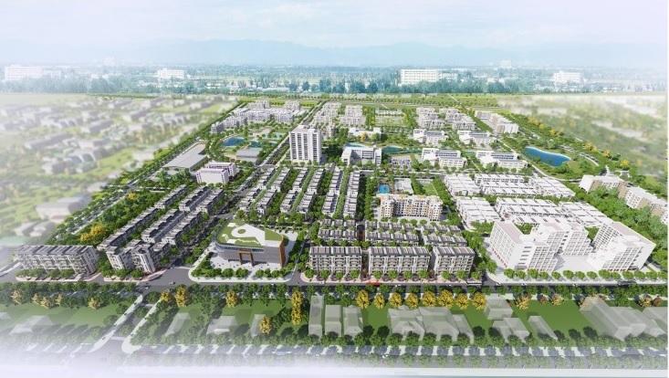 Phối cảnh dự án khu đô thị Viglacera Yên Phong