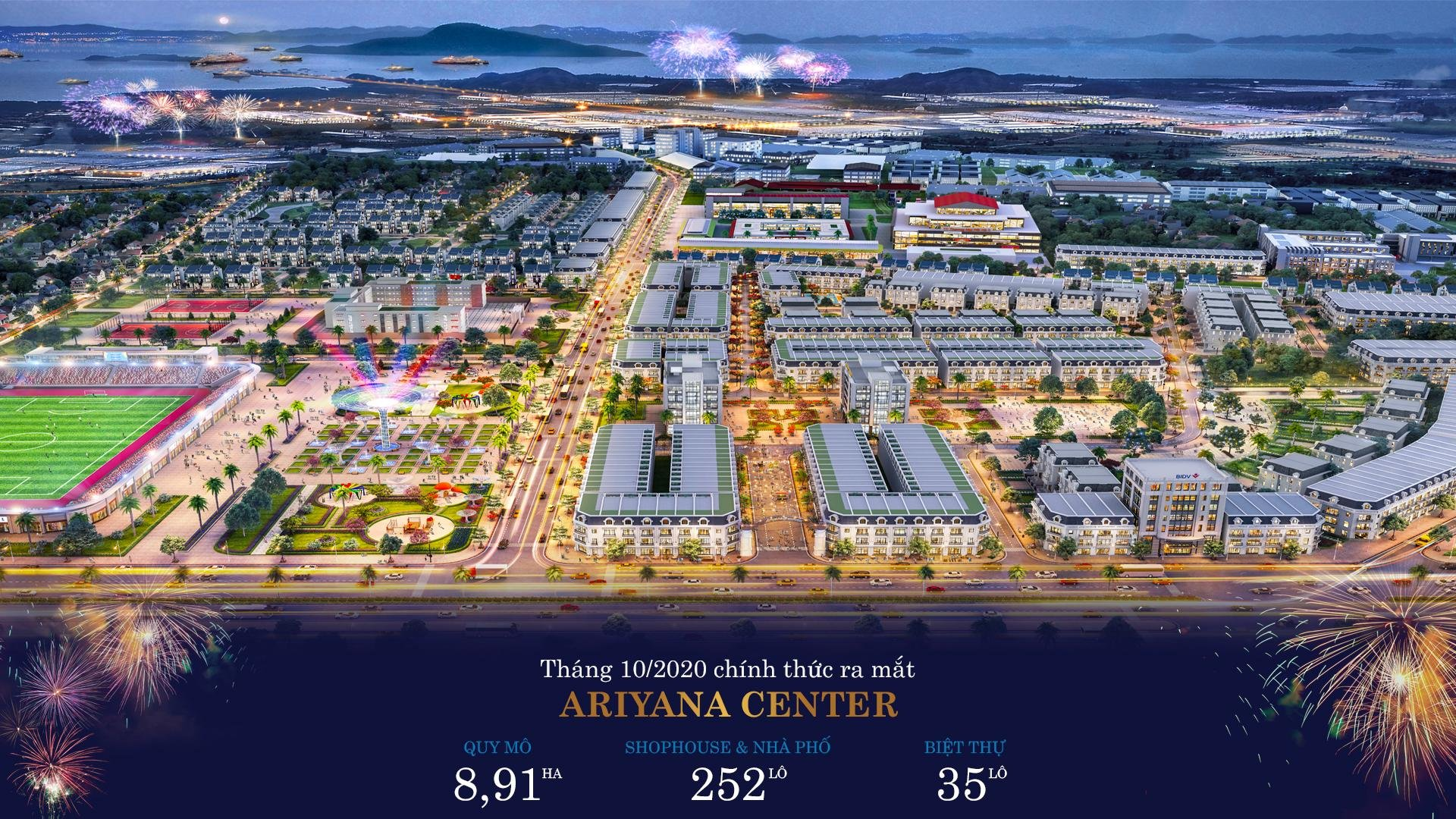 mở bán dự án ariyana center hải hà