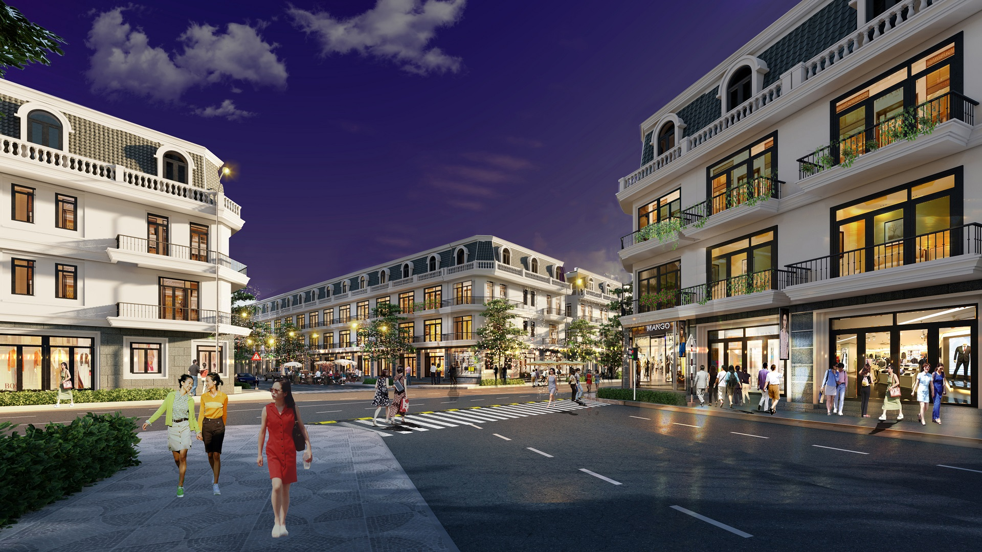 liền kề dự án vĩnh yên center city