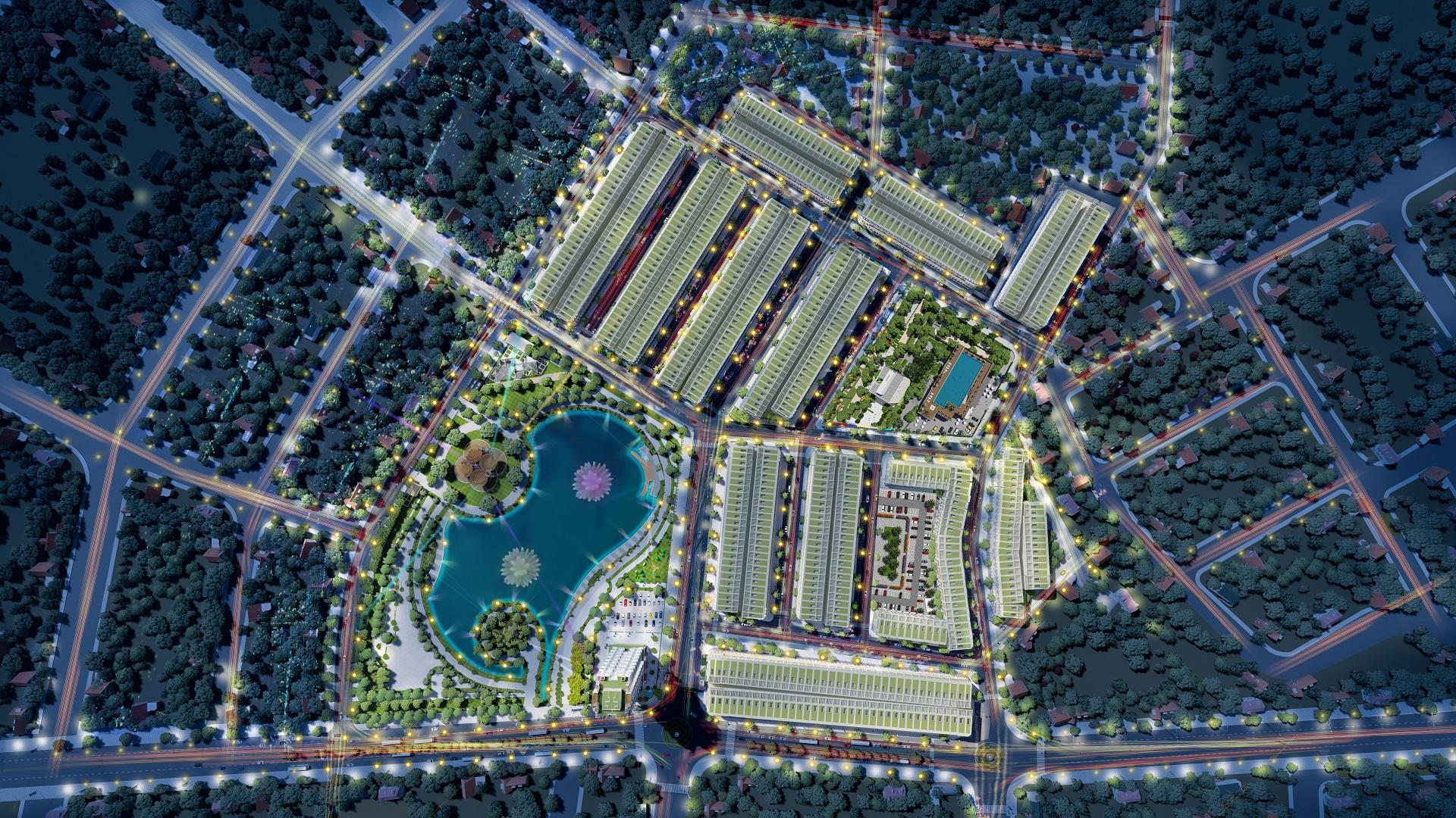 tổng quan dự án vĩnh yên center city
