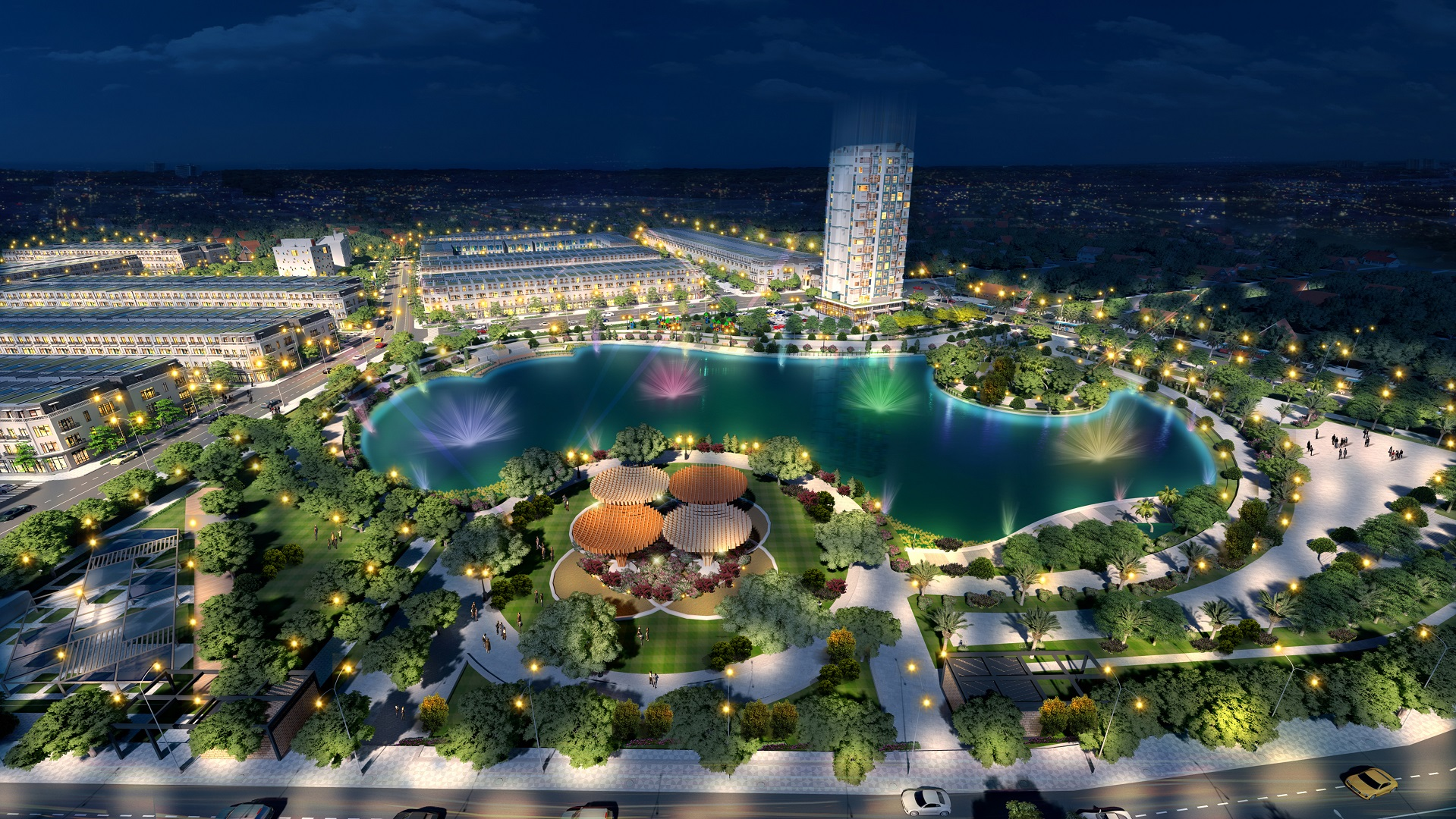 hồ điều hòa dự án center city