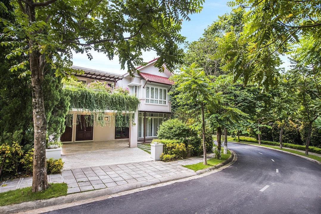biệt thự xanh villas hòa lạc
