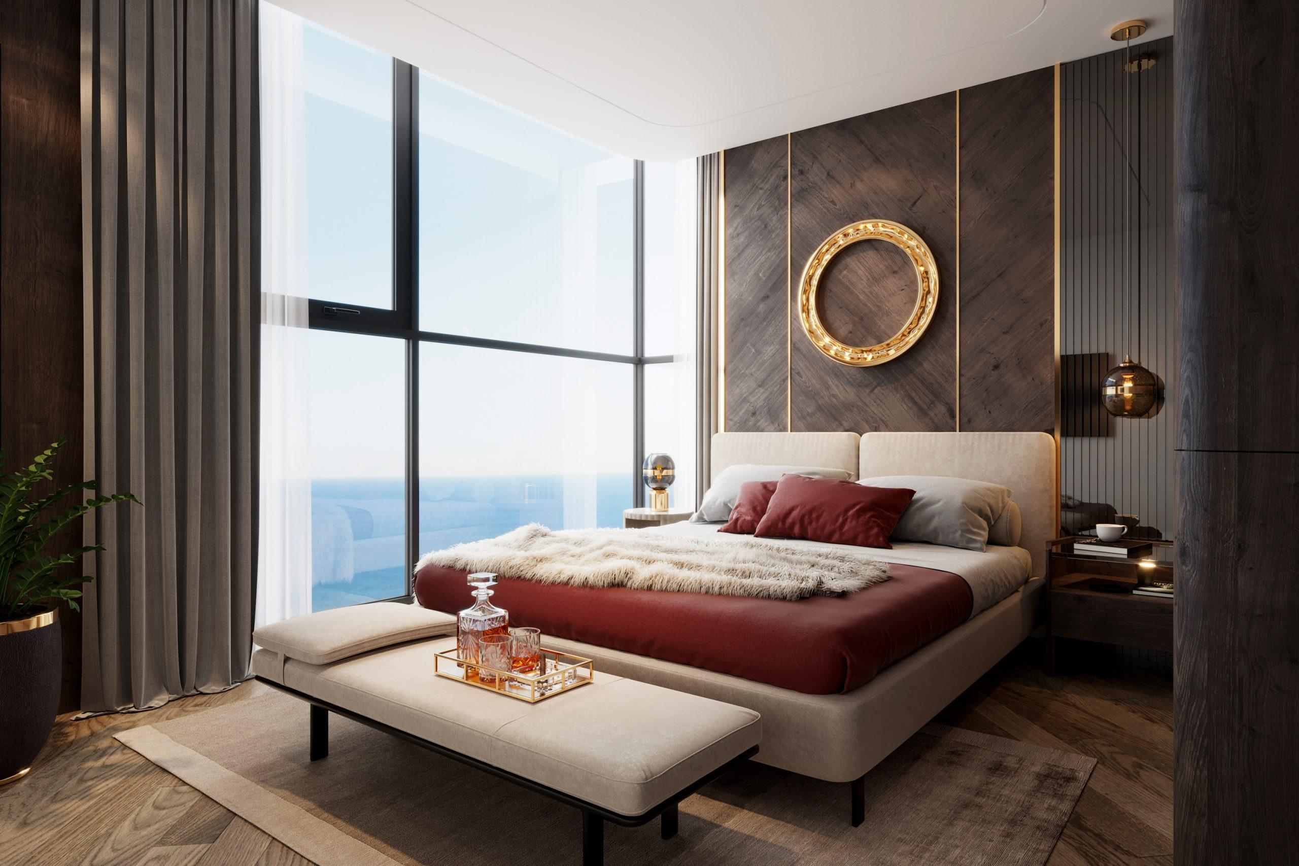 phòng ngủ dự án the ruby cao xanh hà khánh a