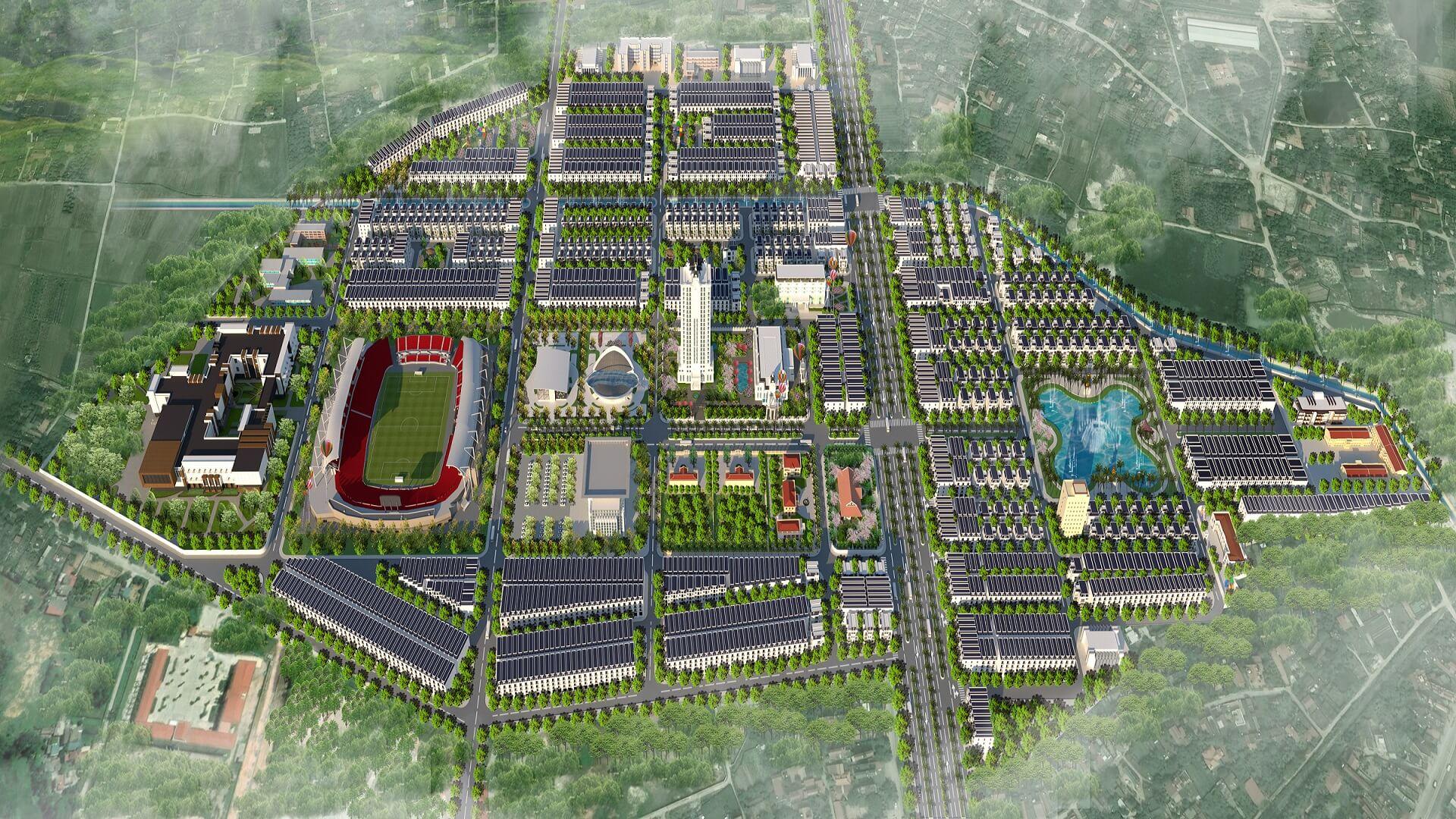 dự án chí linh palm city hải dương