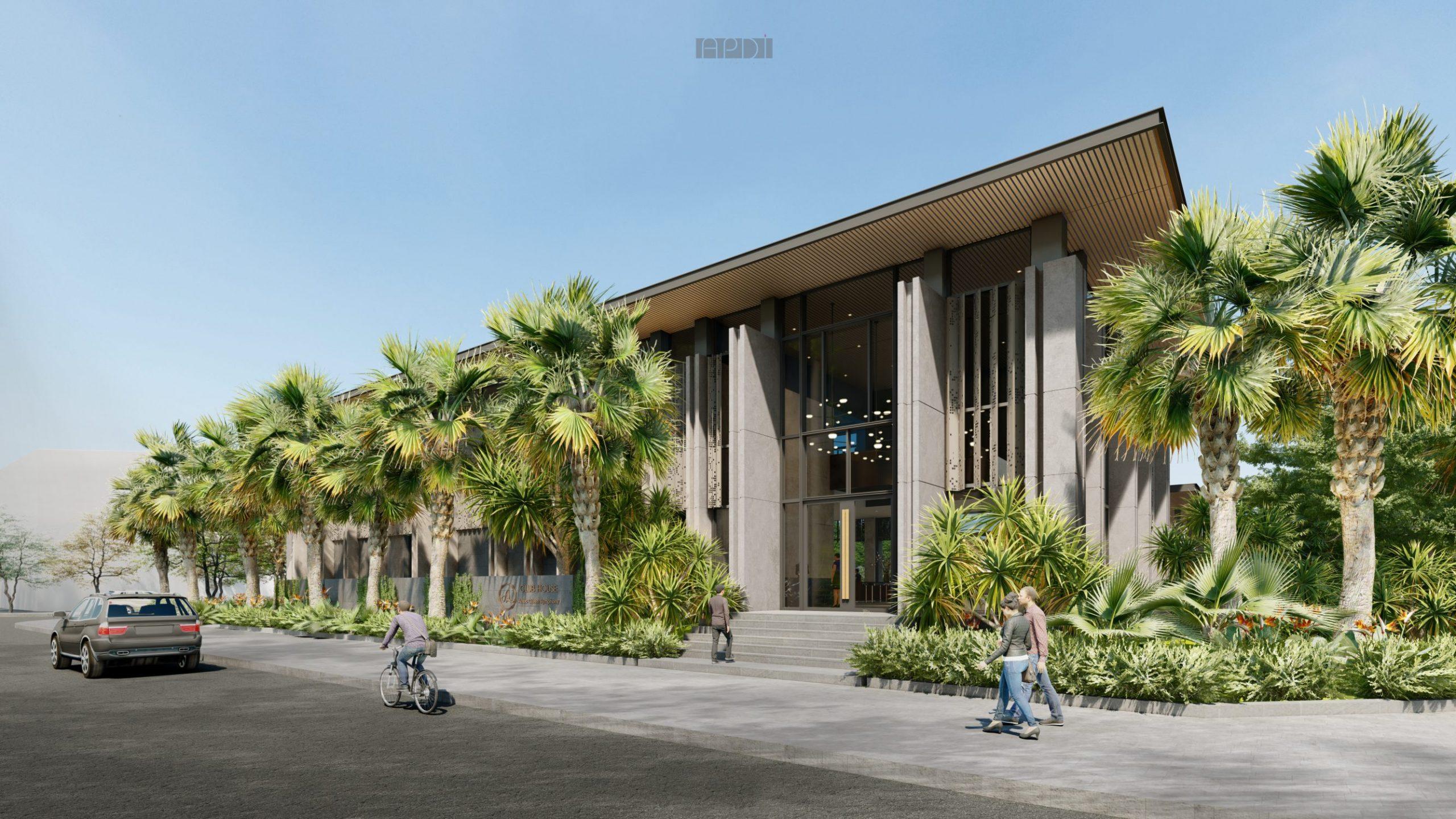 clubhouse dự án an lạc green symphony
