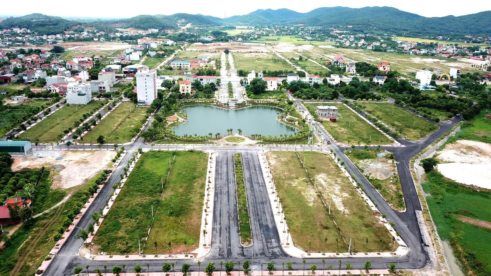 hình ảnh thực tế dự án chí linh palm city
