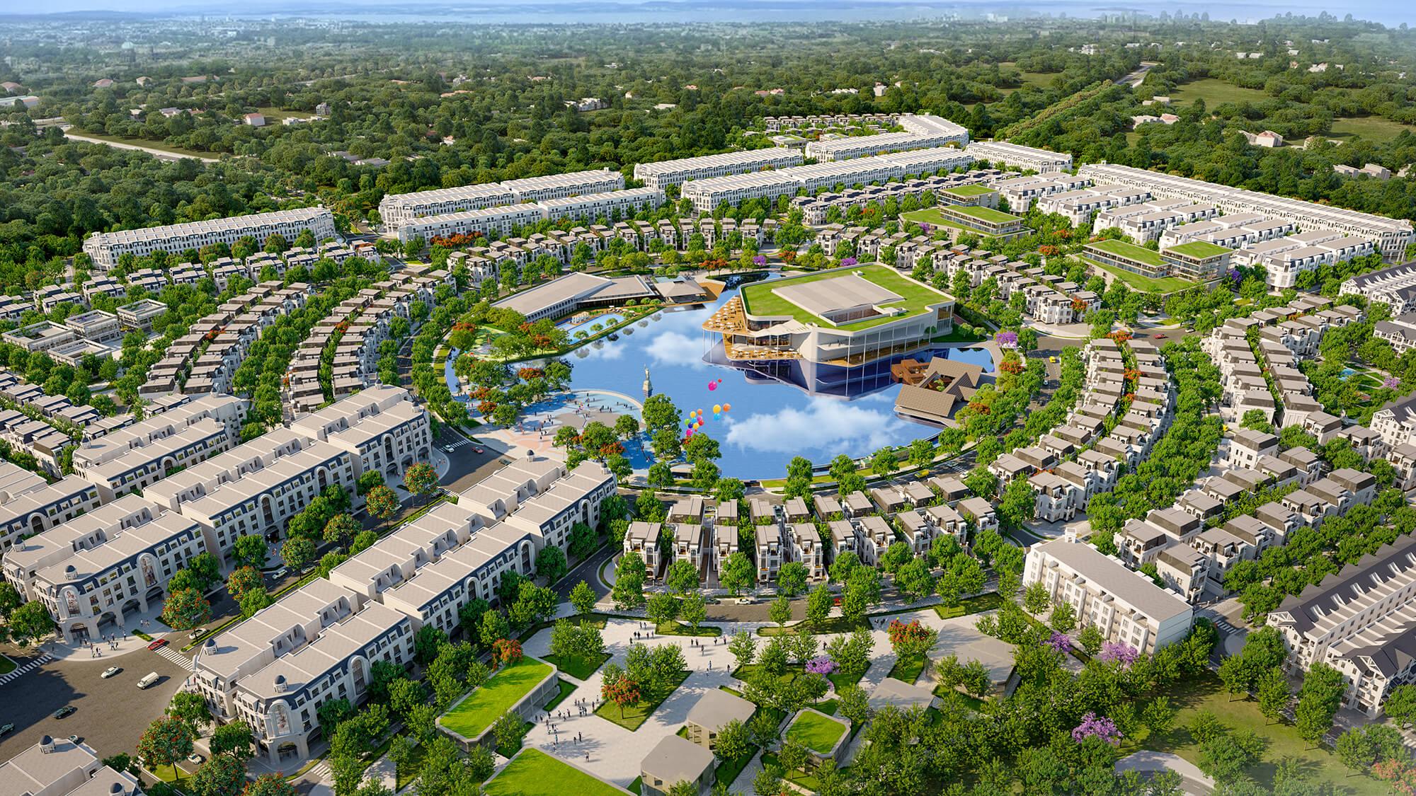 tiện ích dự án hinode royal park