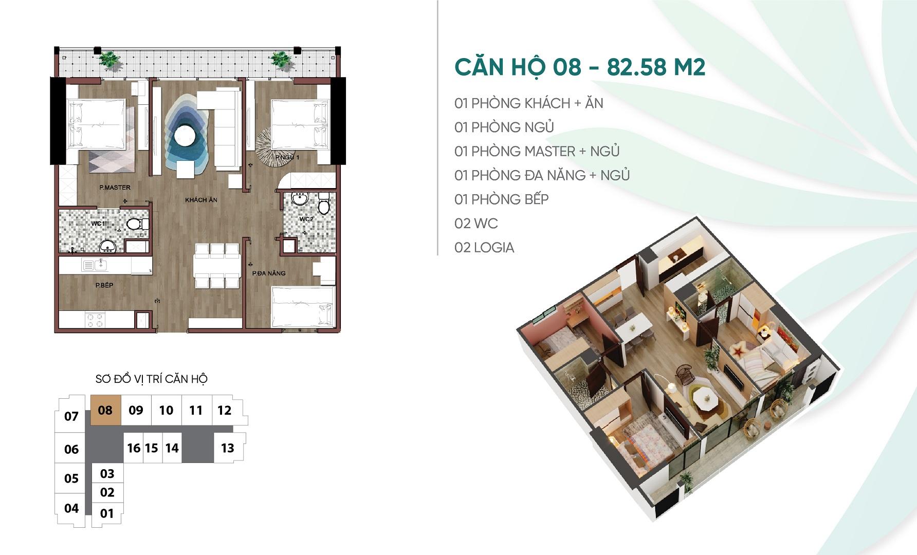 thiết kế căn hộ 08 dự án an bình plaza