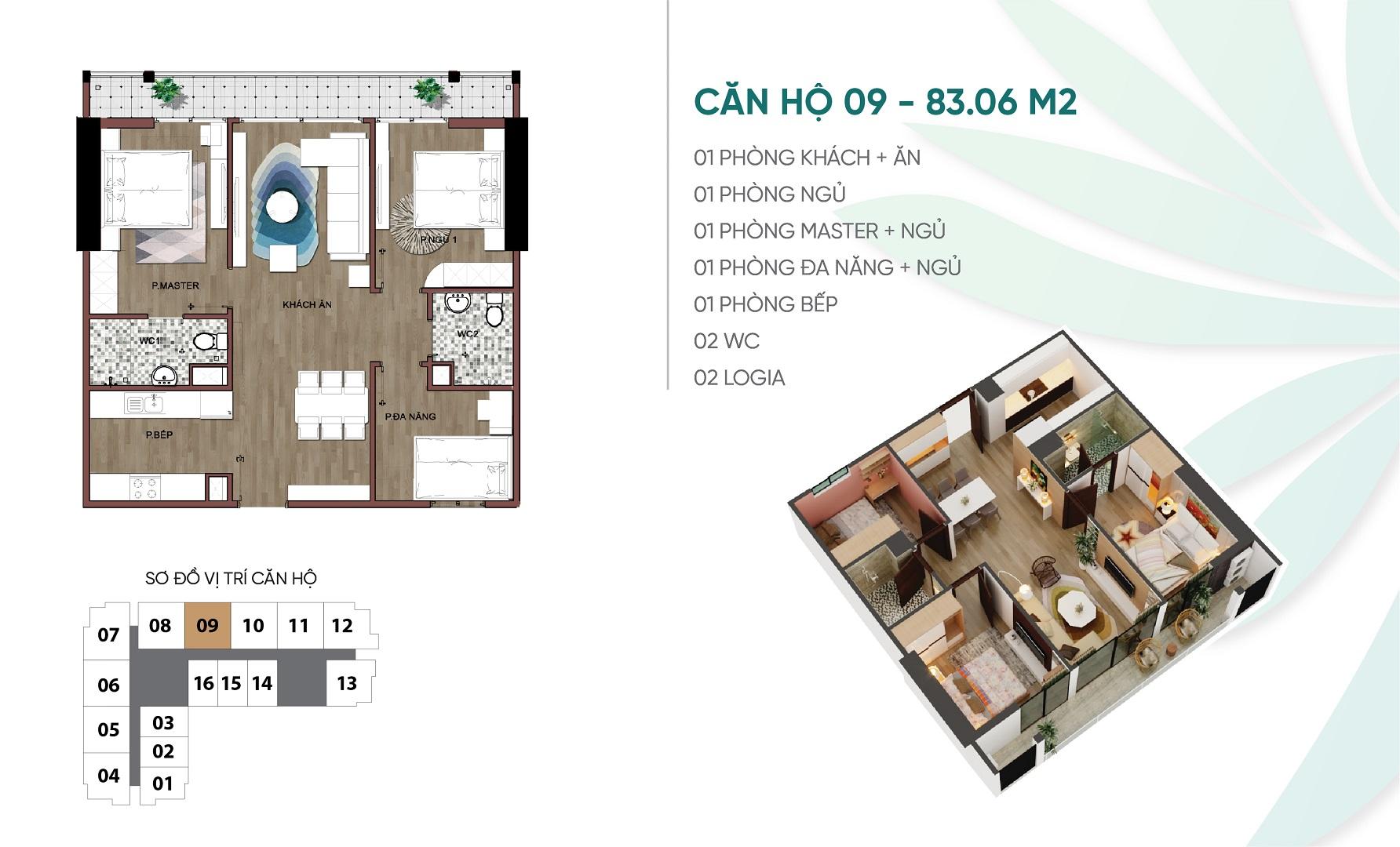 thiết kế căn hộ 09 dự án an bình plaza