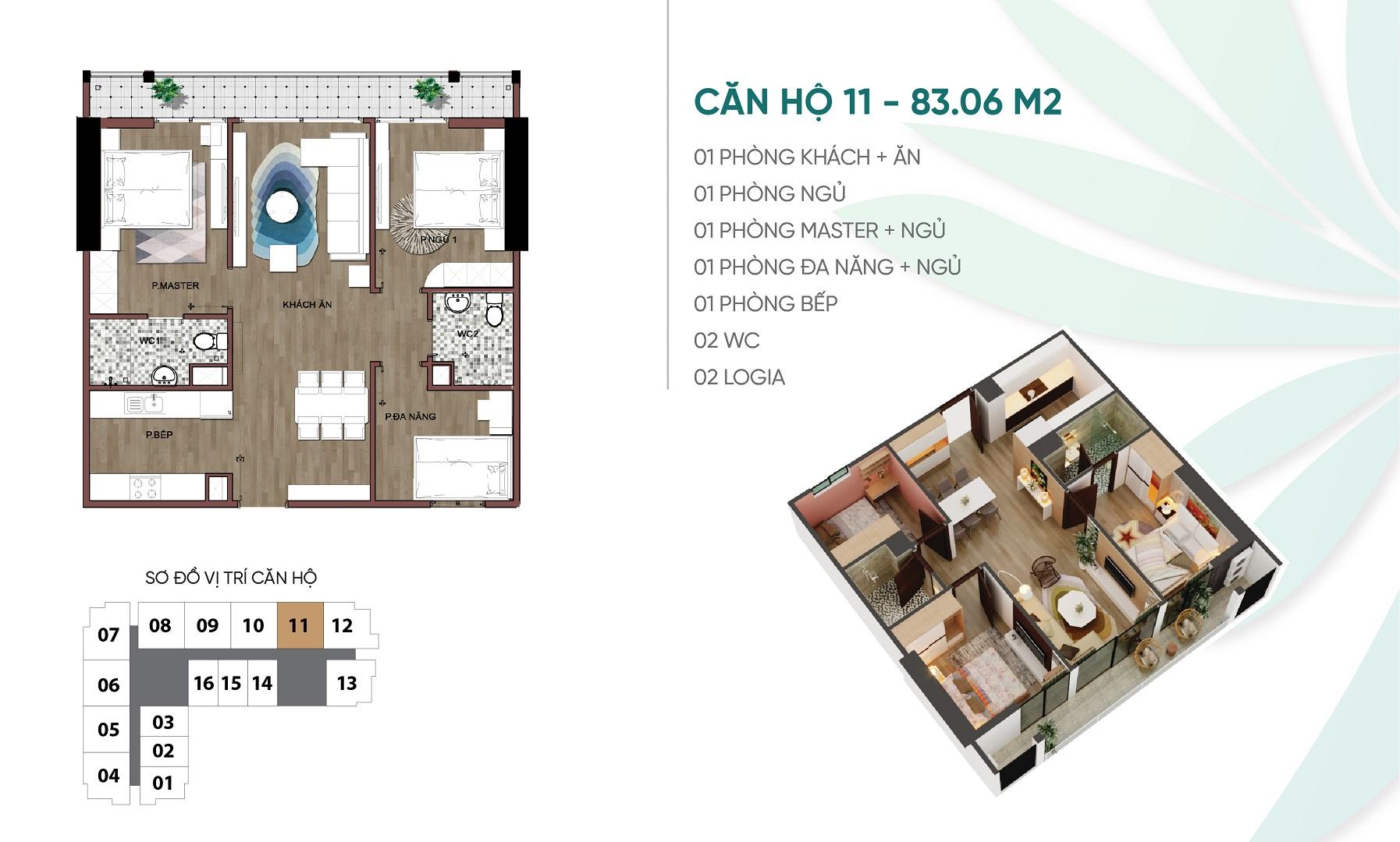 thiết kế căn hộ 11 dự án an bình plaza
