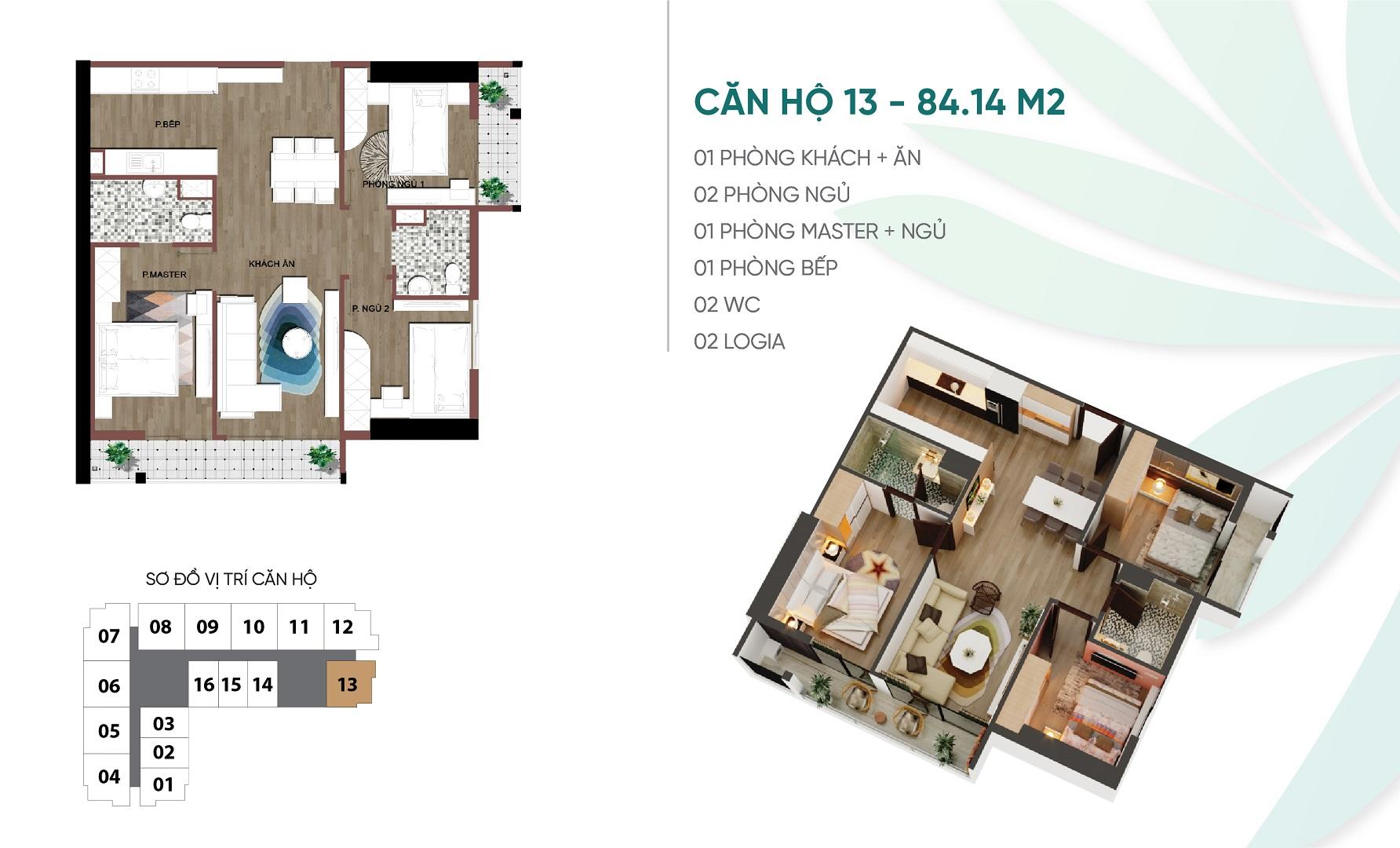 thiết kế căn hộ 13 dự án an bình plaza