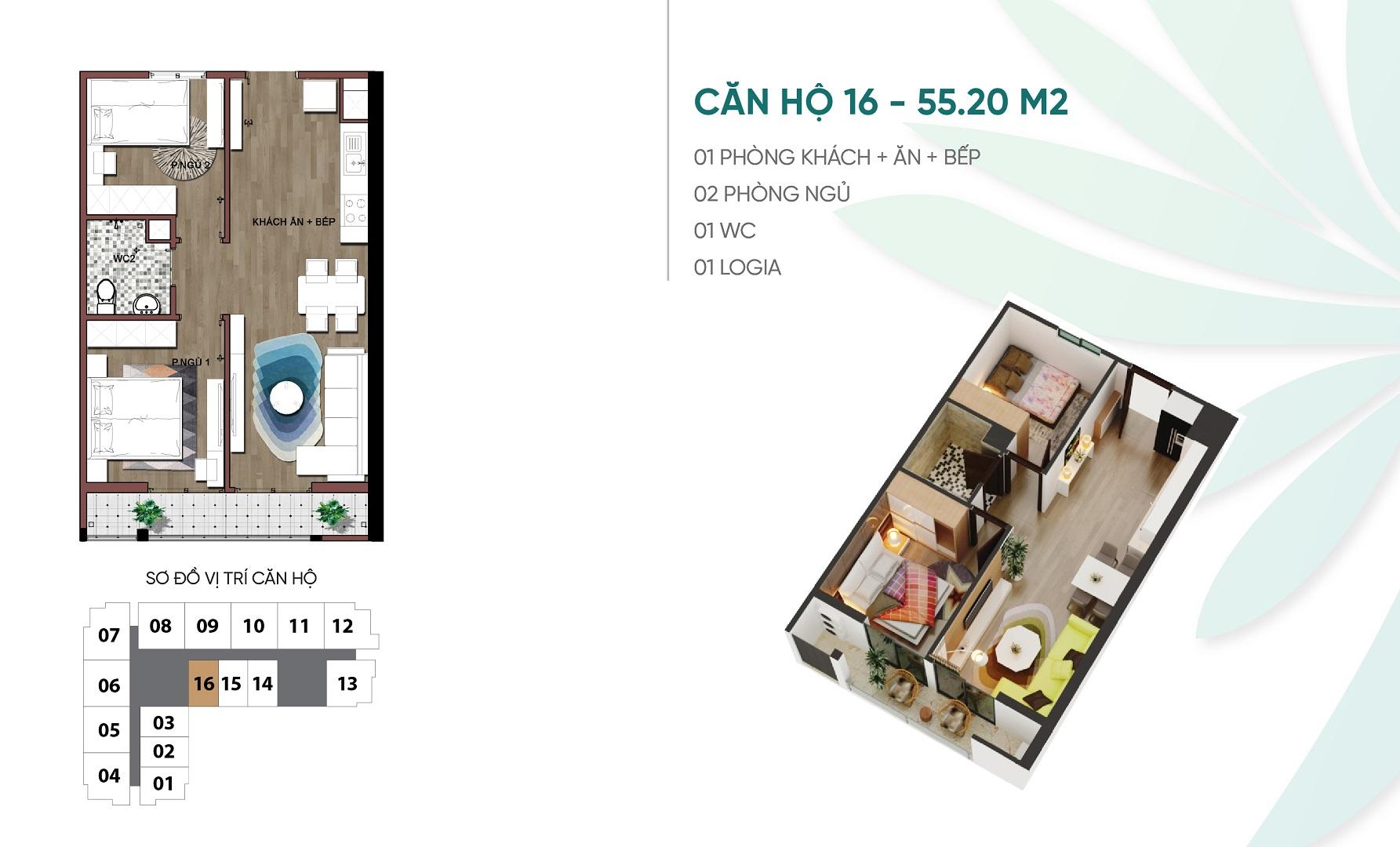 thiết kế căn hộ 16 dự án an bình plaza