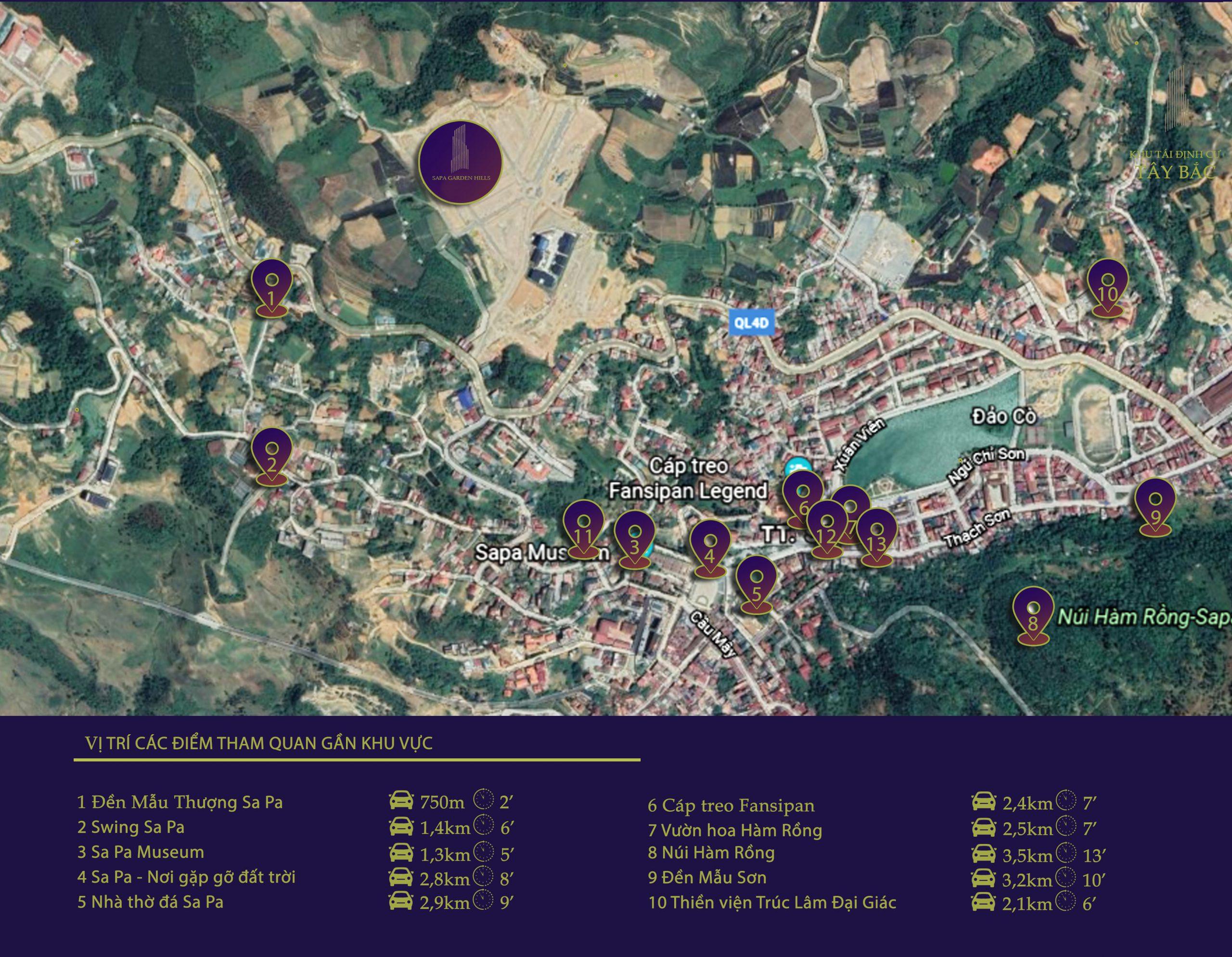 liên kết vùng dự án sapa garden hills