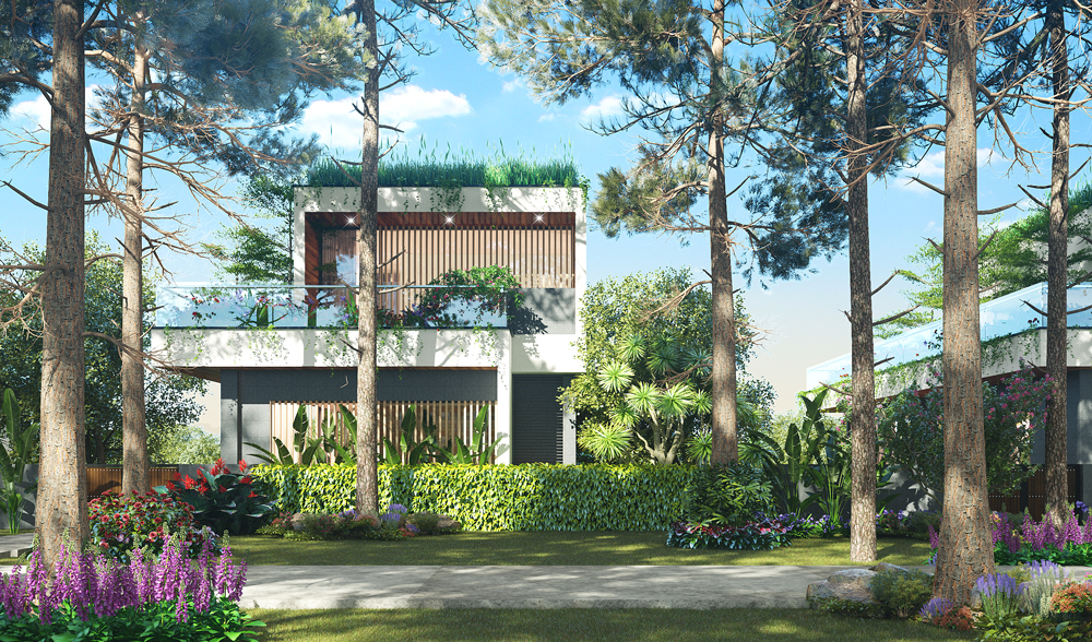 the signature villas flamingo đại lải