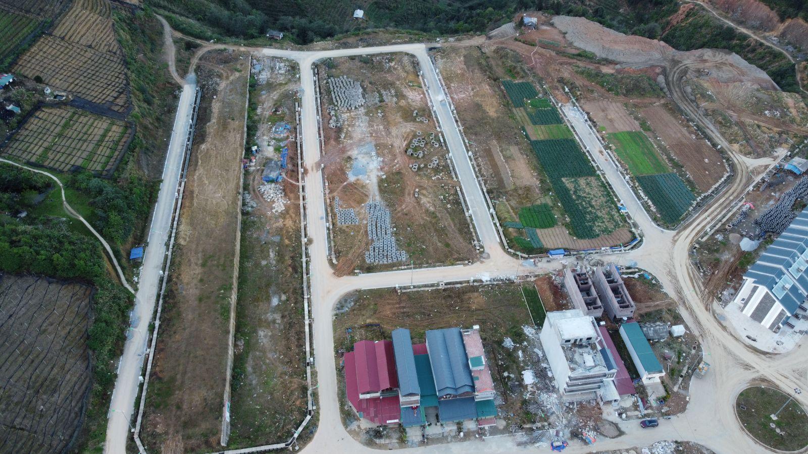 tiến độ dự án shophouse sapa garden hills