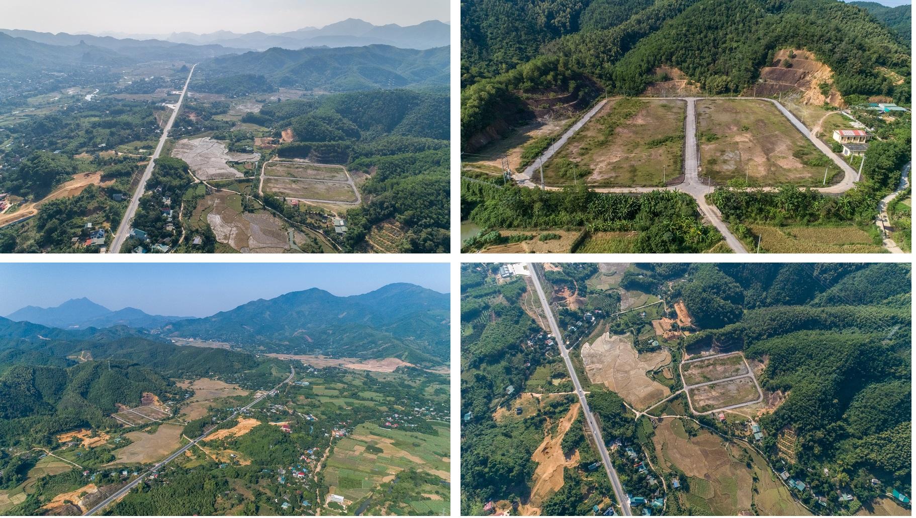 tiến độ thực tế dự án hòa bình green valley