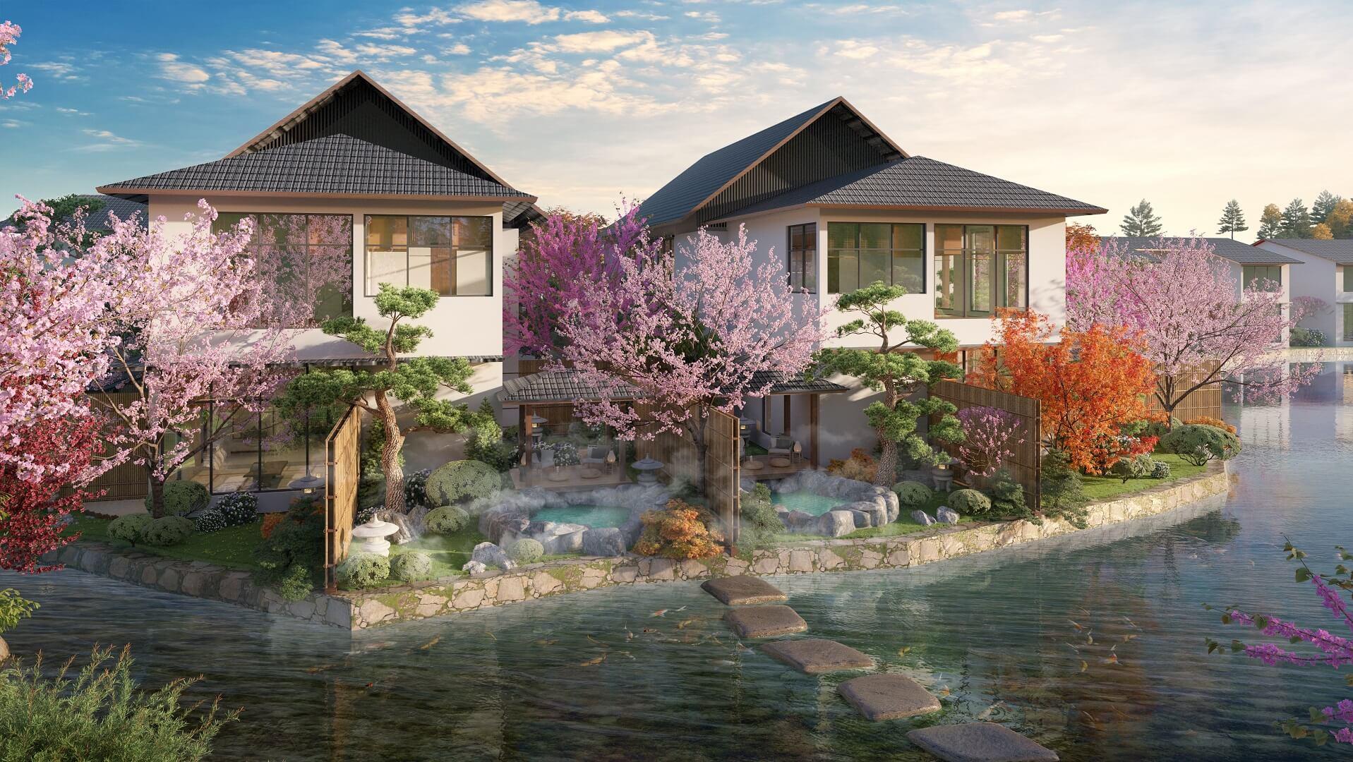 biệt thự sun onsen village quang hanh
