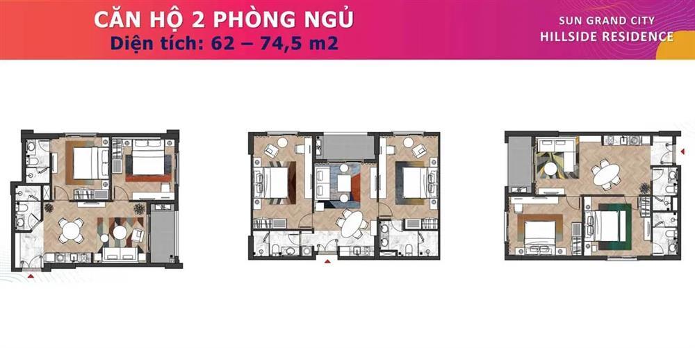 thiết kế căn hộ hillside residence 1