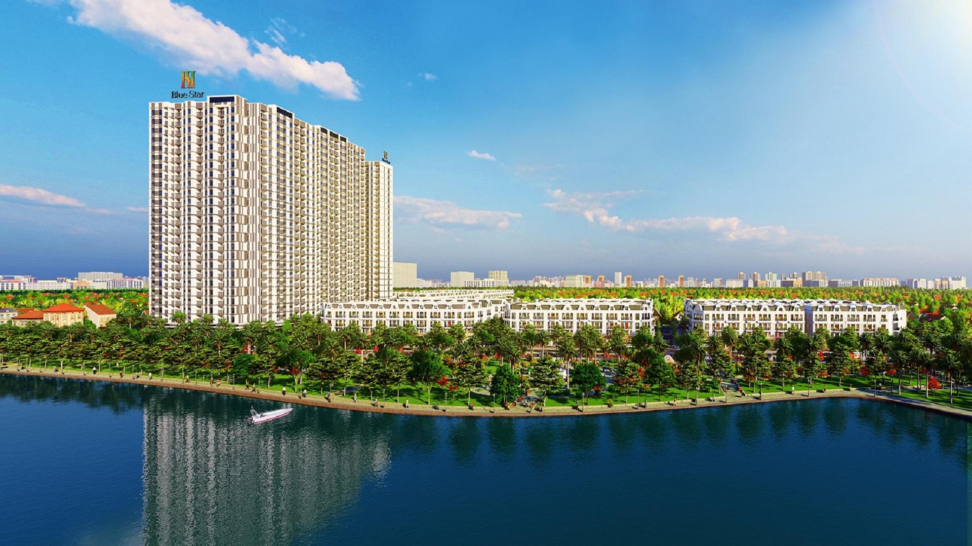 dự án chung cư hanhomes blue star trâu quỳ gia lâm