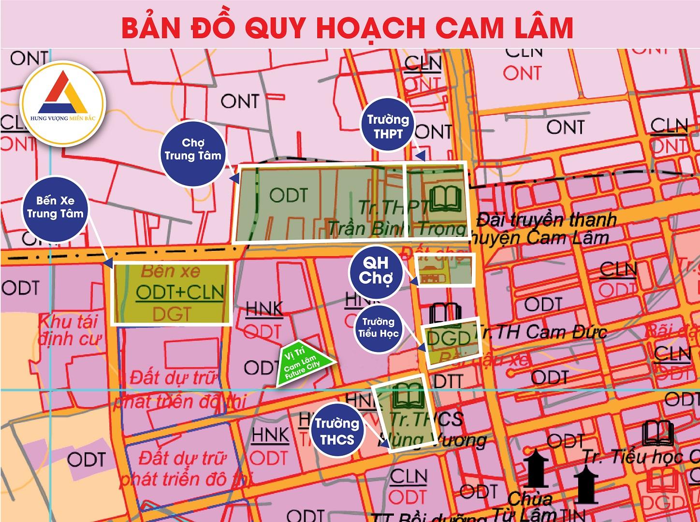 quy hoạch dự án cam lâm future city