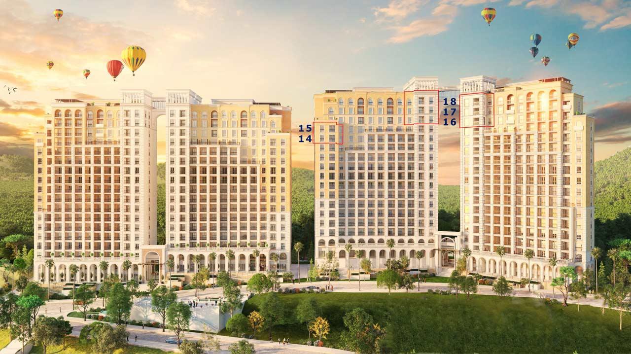 dự án sun grand city hillside residence phú quốc
