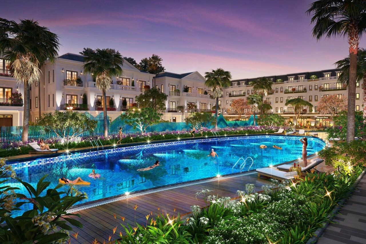 bể bơi dự án eurowindow twin parks