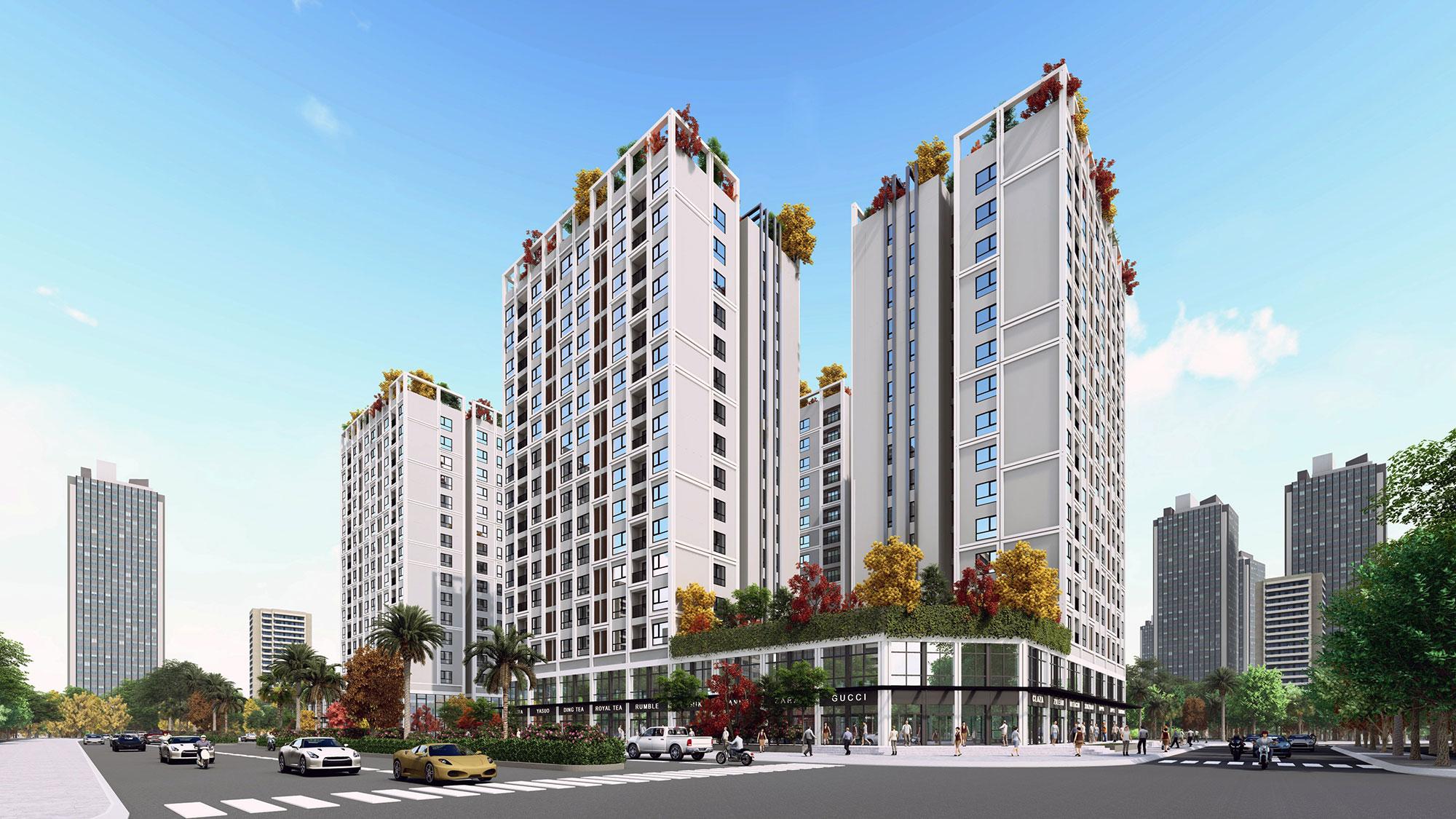 dự án chung cư eco smart city long biên