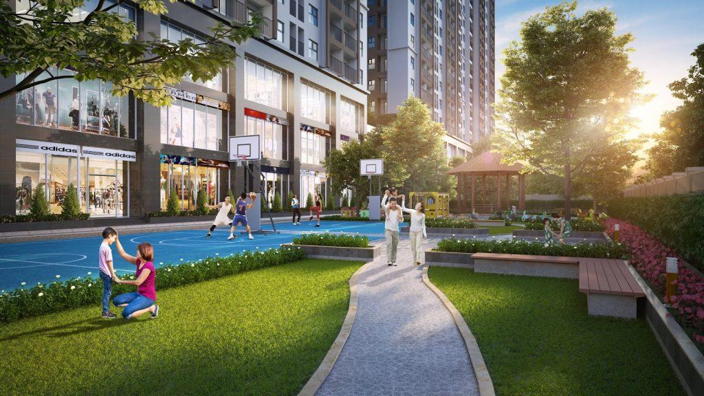 sân chơi dự án eco smart city long biên