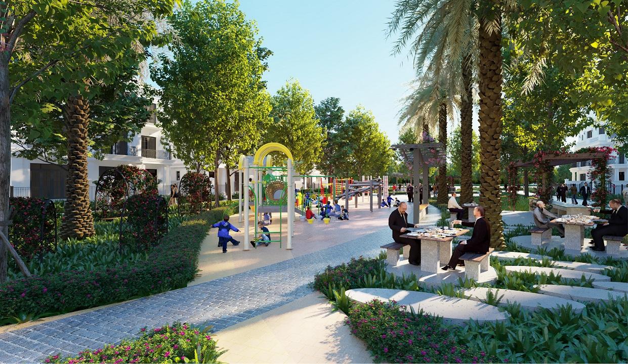 công viên dự án eurowindow twin parks