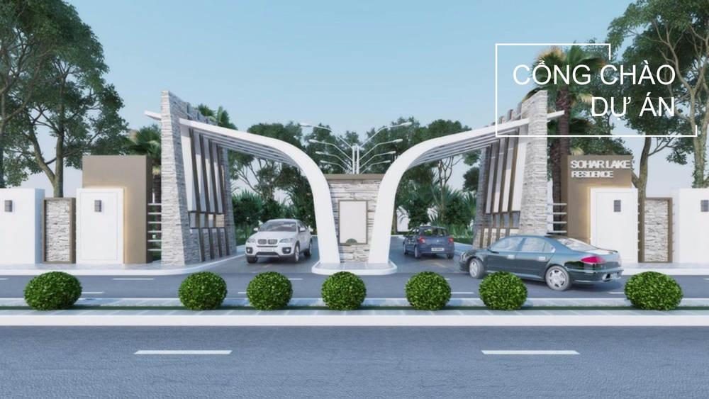 cổng chào dự án