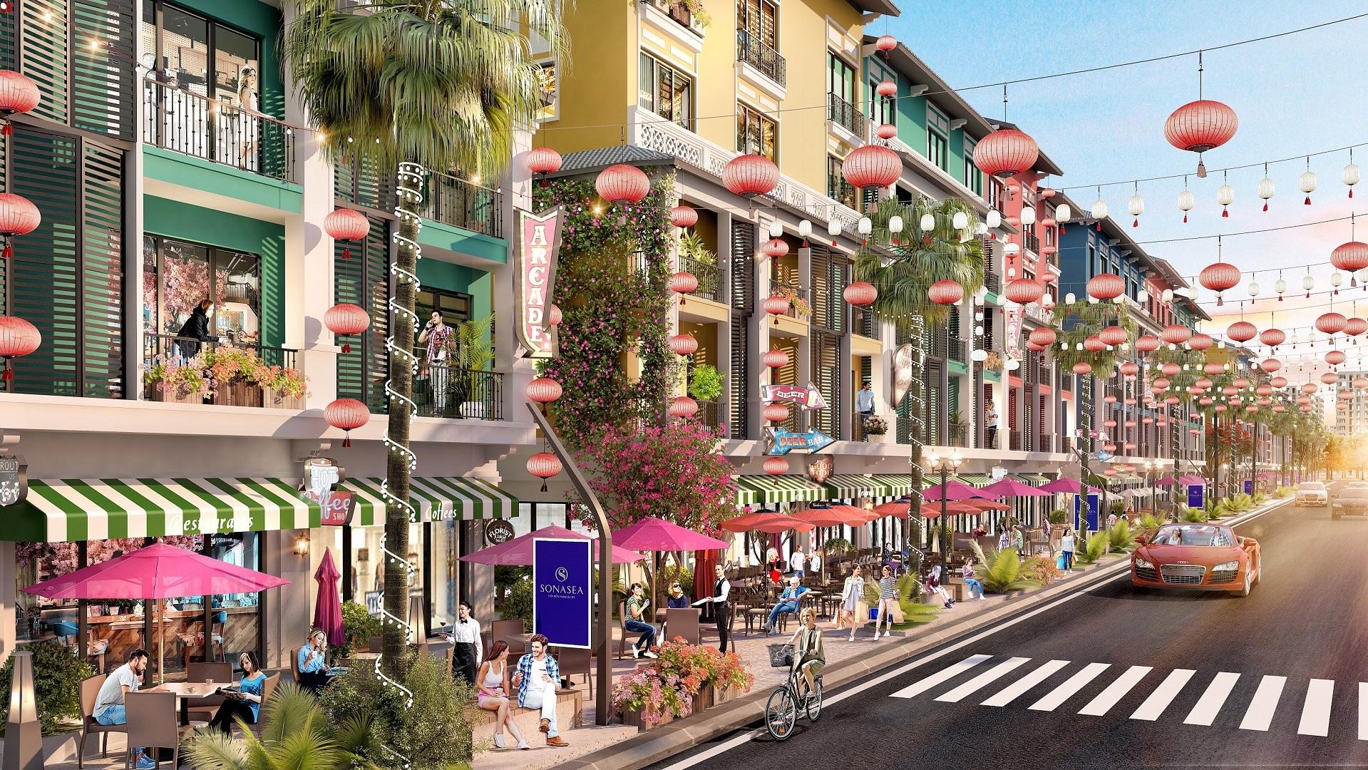 shophouse dự án felicity uông bí