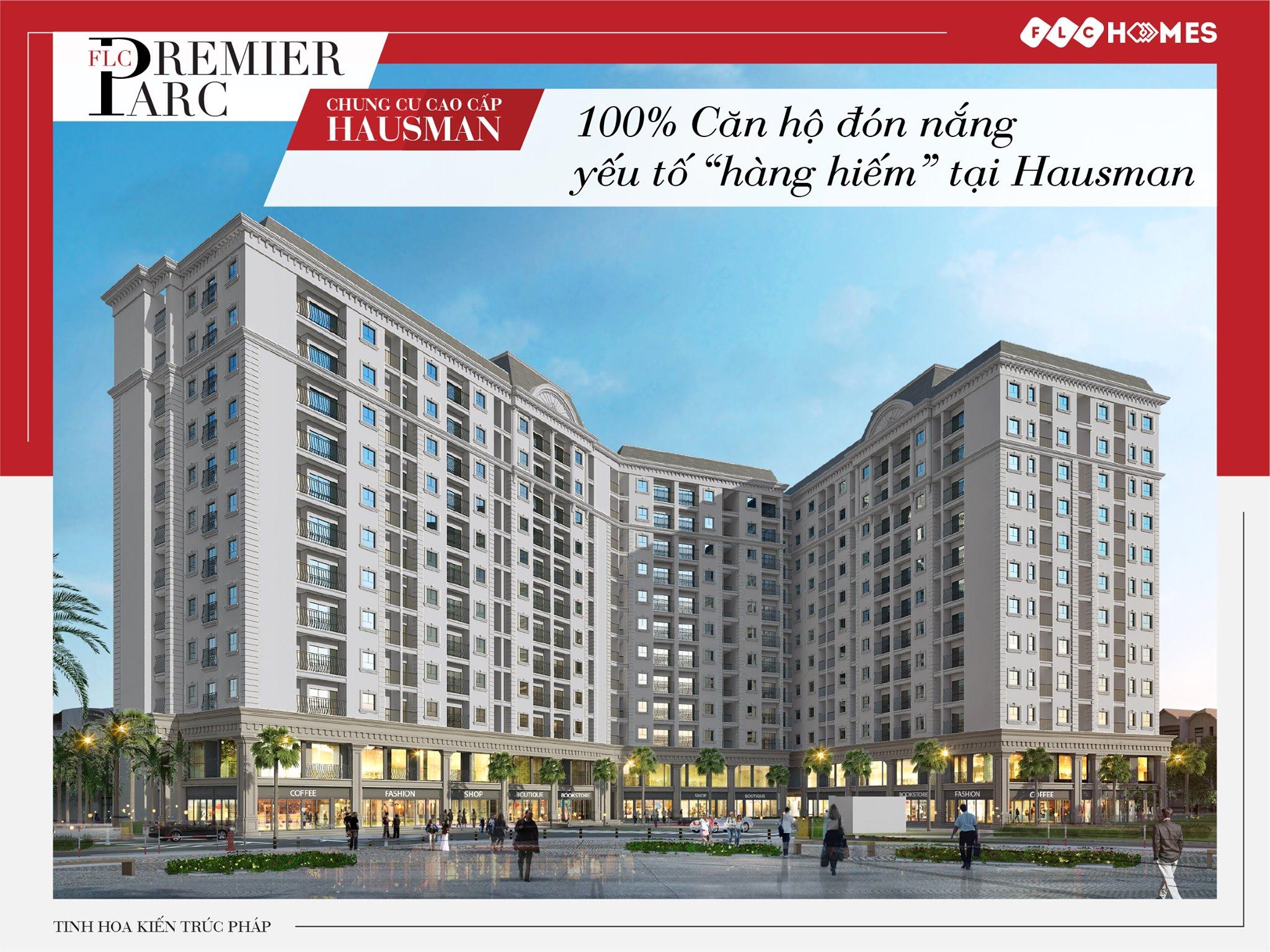 thiết kế căn hộ chung cư flc premier park đại mỗ (hausman))