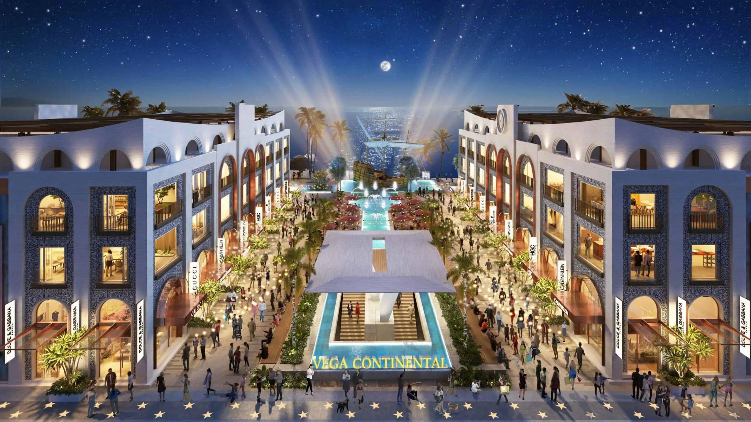 Shophouse Europe dự án Vega City Bãi Tiên Nha Trang