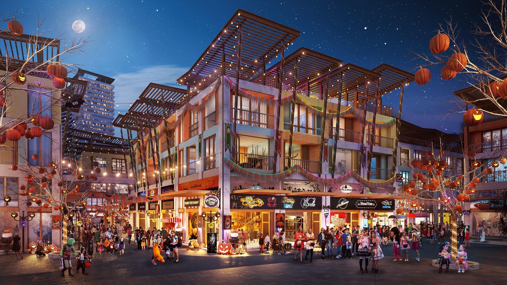 Shophouse Hawaii Vega City Bãi Tiên Nha Trang
